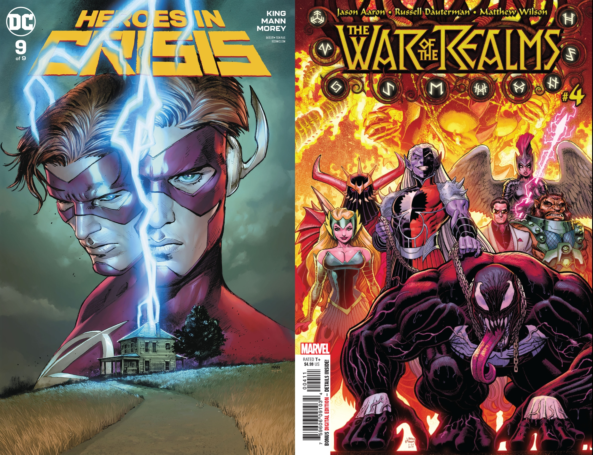 Top 100 Most-Ordered Comics and Graphic Novels For May 2019 - As Heroes In Crisis and The War Of The Realms Drop Out of the Top Ten