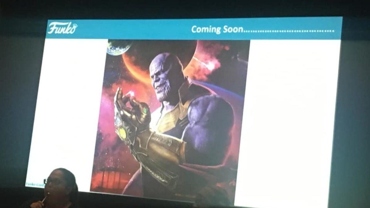 Funko Previews Exclusive Thanos