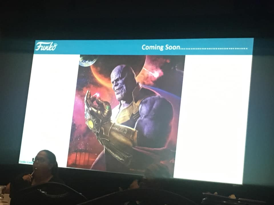 "Funko Previews Exclusive Thanos ""Snap"" Pop Coming in December?"