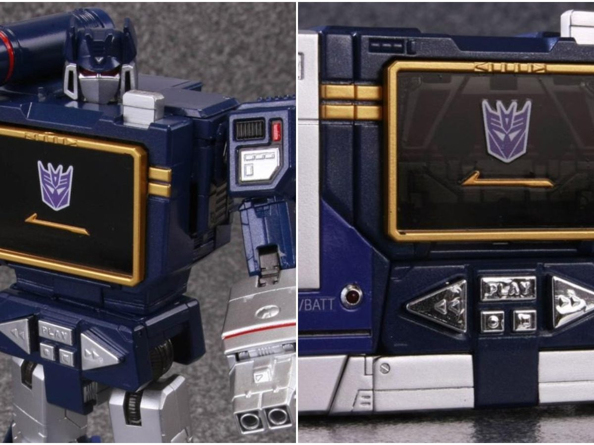 SOUNDWAVE with LASERBEAK 2019 Reissue Takara Tomy Masterpiece MP-13