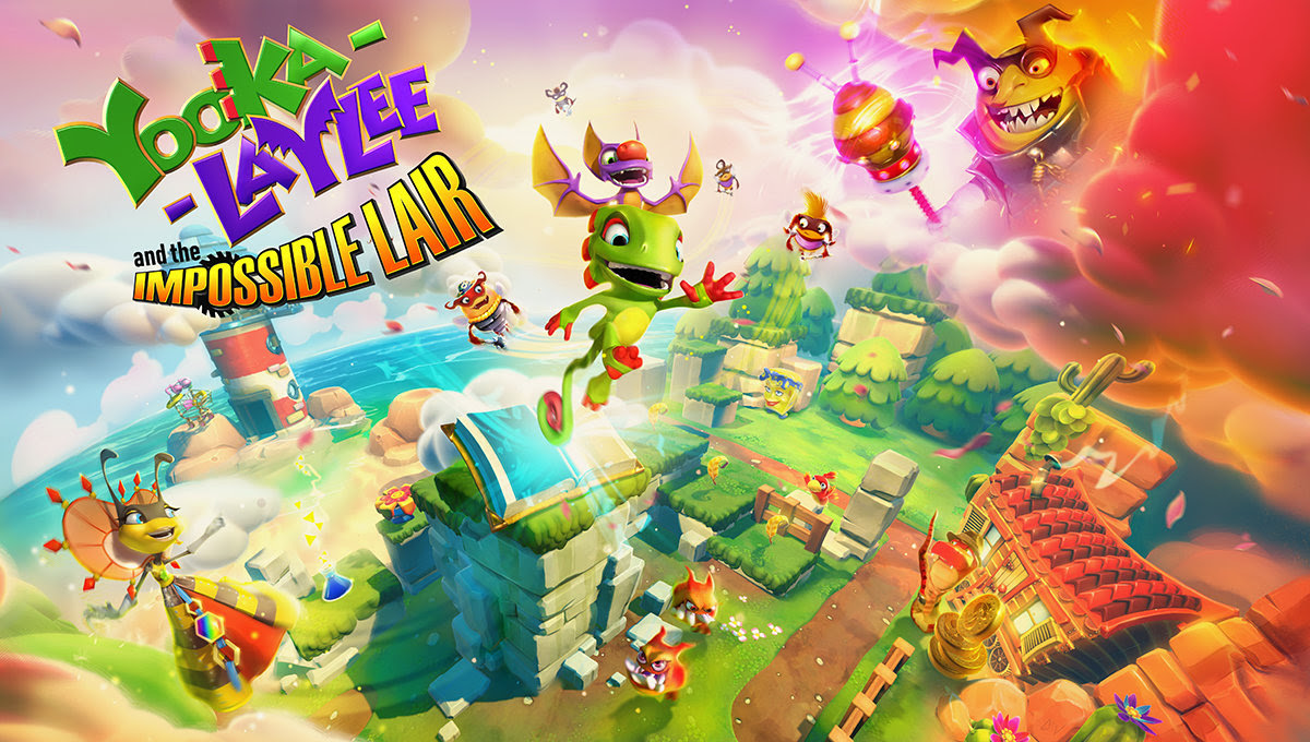 "Team17 Announce ""Yooka-Laylee and the Impossible Lair"" For E3 2019"