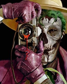 A New Look For Arthur Suydam's Killing Joke Homage For DCeased