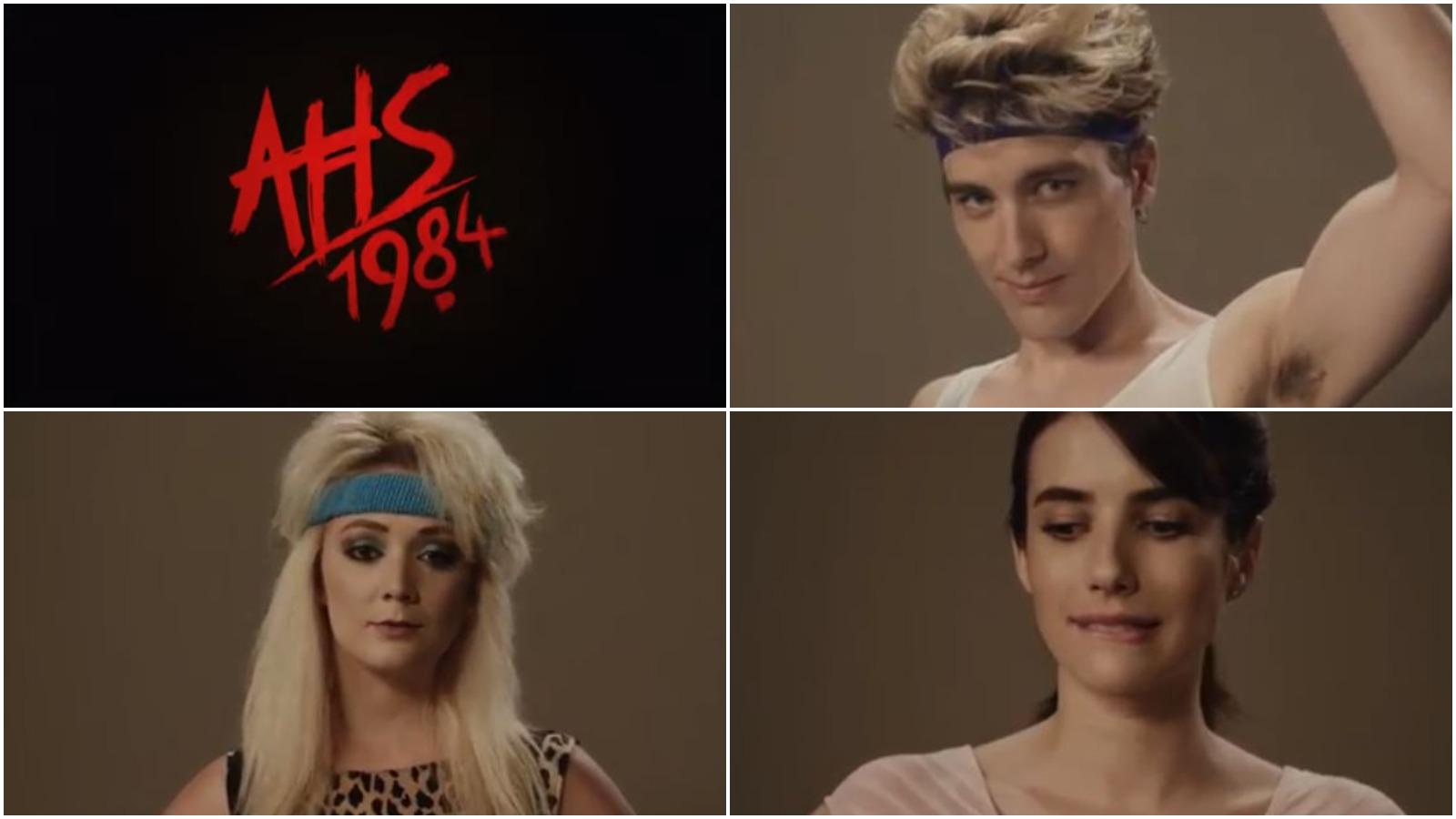 Risultati immagini per ahs 1984 cast