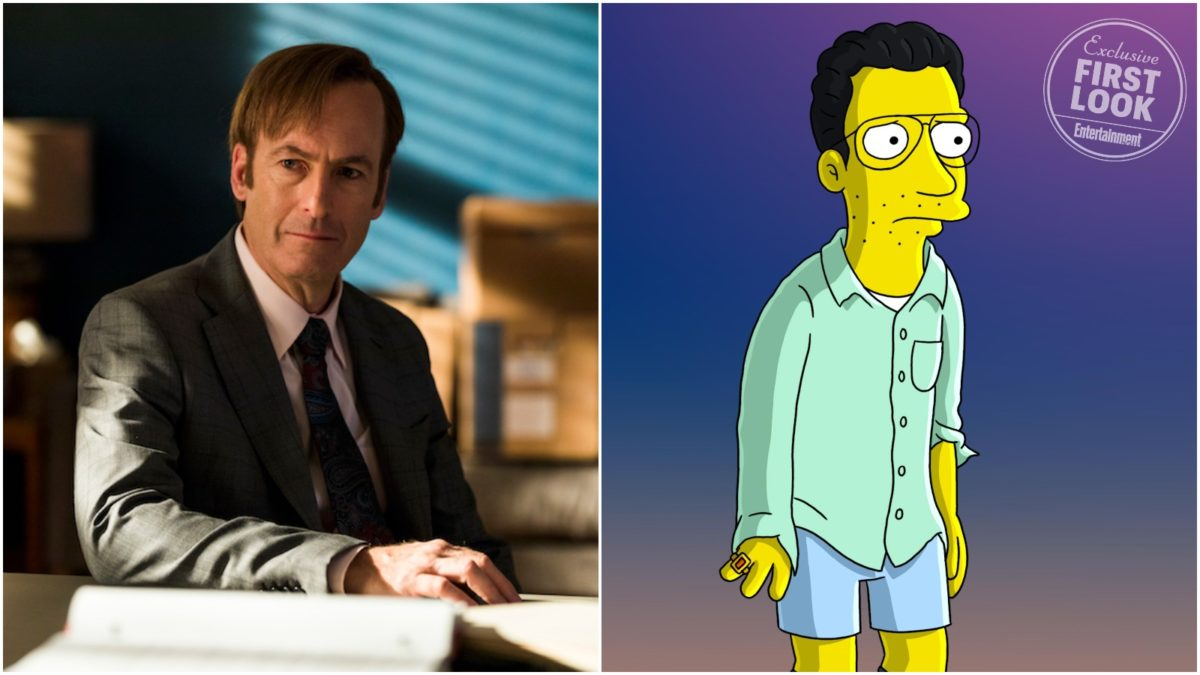 """""""Better Call Saul"""" Star Bob Odenkirk Guest-Voicing on """"The Simpsons"""""""