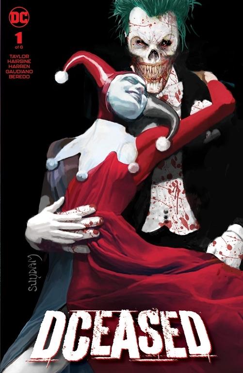 Arthur Suydam's Joker And Harley Quinn - Is That Margot Robbie?