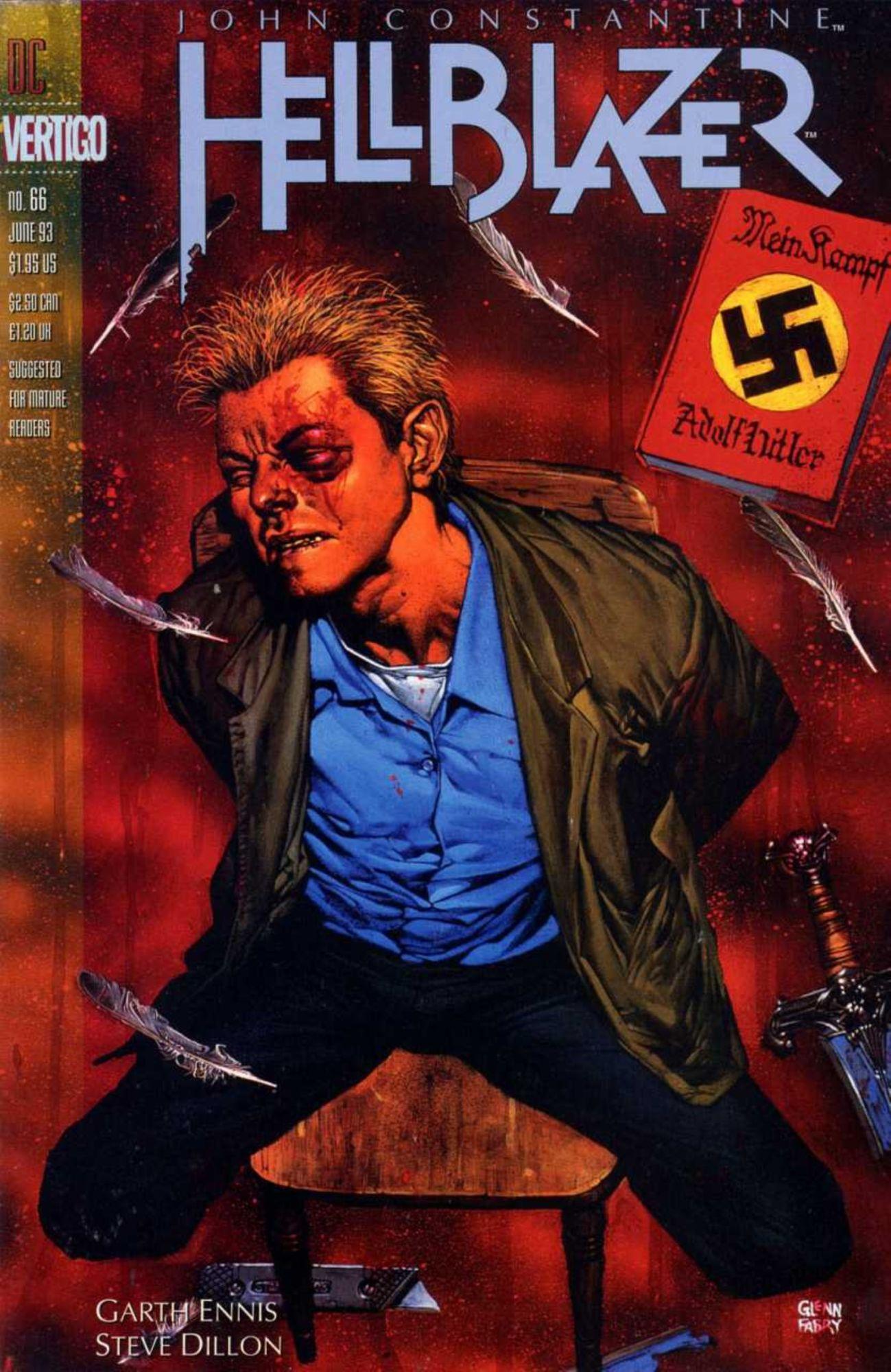 DC to Publish All of Garth Ennis' John Constantine: Hellblazer Comics in One Fat Omnibus