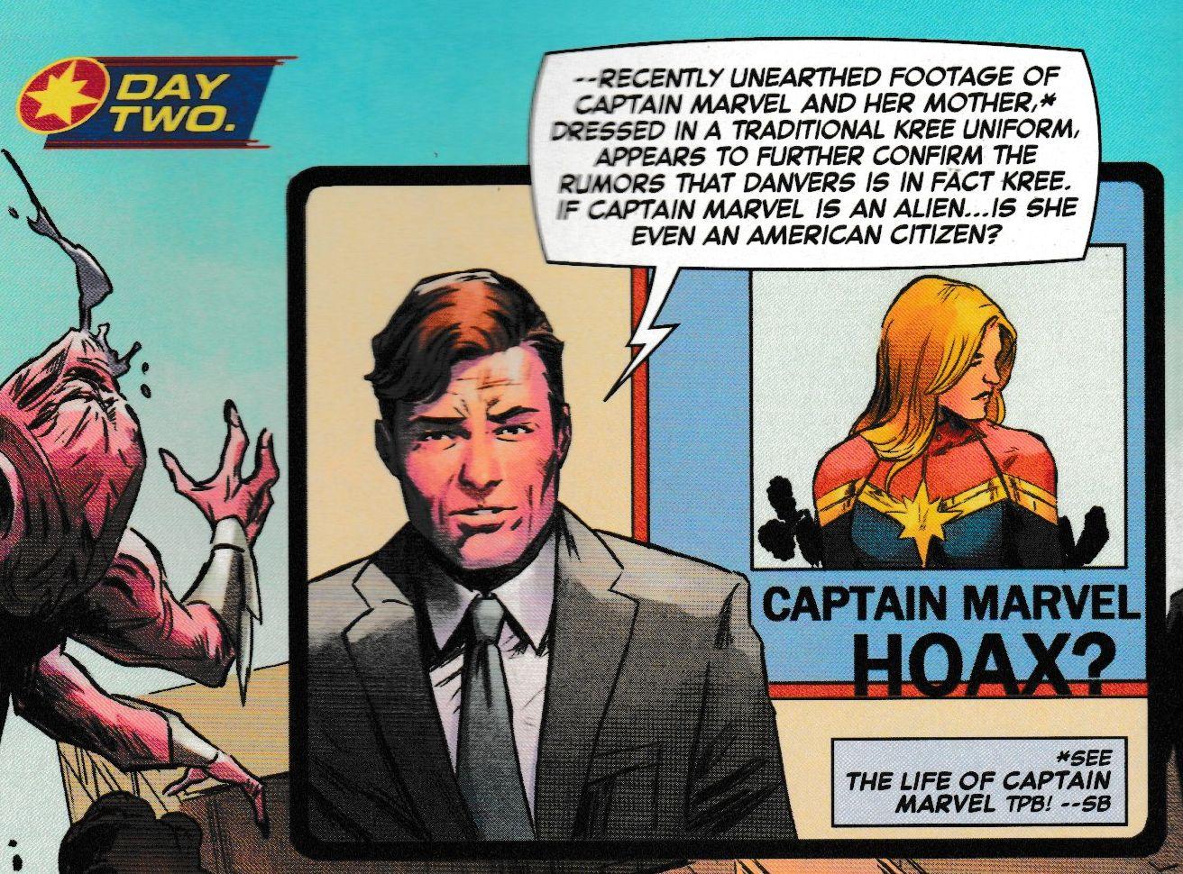Captain Marvel #8 Gets Rather Topical, Regarding President Trump's Tweets (Spoilers)