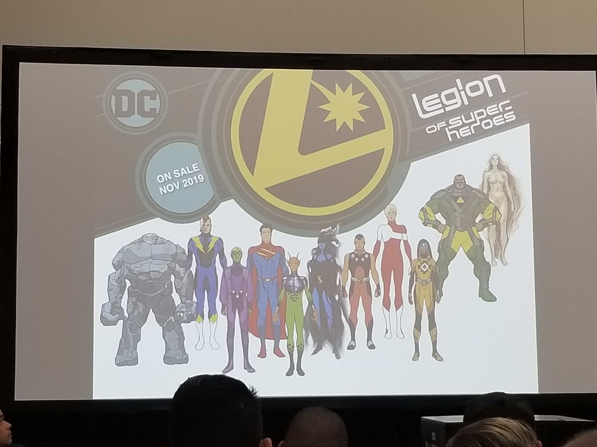 DC Comics Give Away Plastic 'Legion Rings' With Launch of Legion Of Superheroes in November