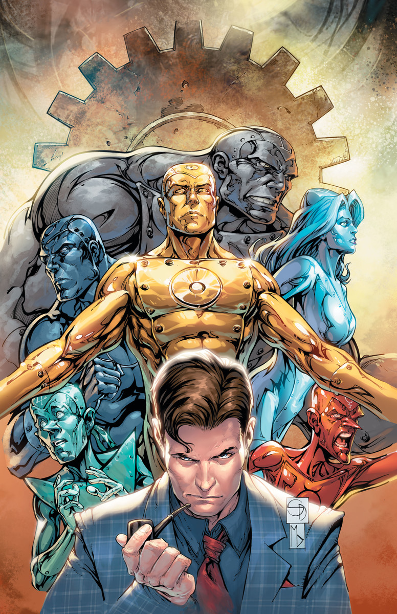Dan Didio to Write Metal Men with Shane Davis at DC in October
