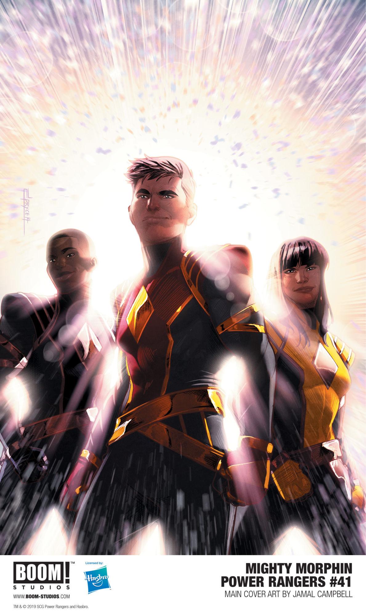 Who Needs Omega Mutants as BOOM! Reveals New Omega Rangers?