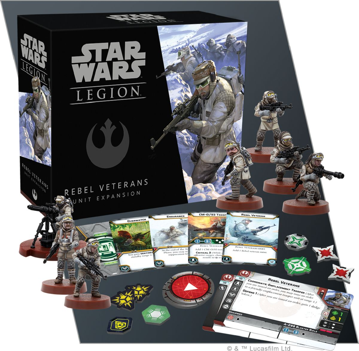 Star Wars Legion Preview Of Rebel Veterans From Ffg