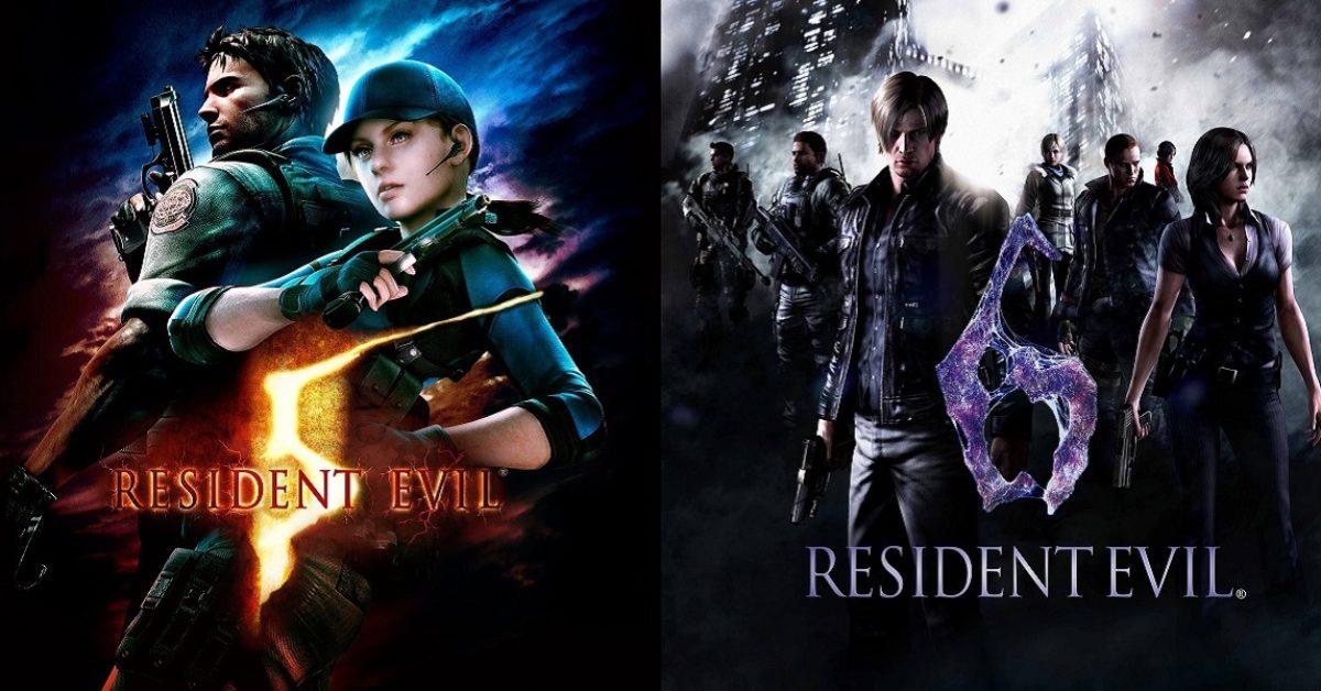 Kết quả hình ảnh cho Resident Evil 5 & Resident Evil 6