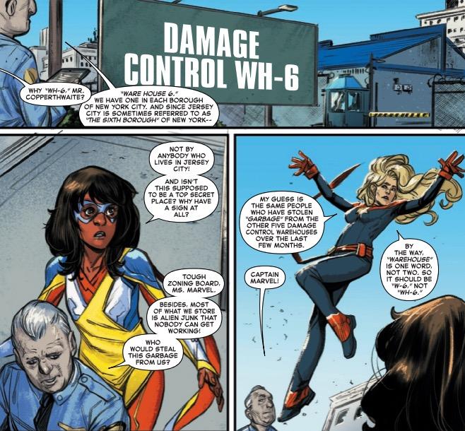 Captain Marvel, Grammar Nazi? Marvel Team-Up #4 [Preview]