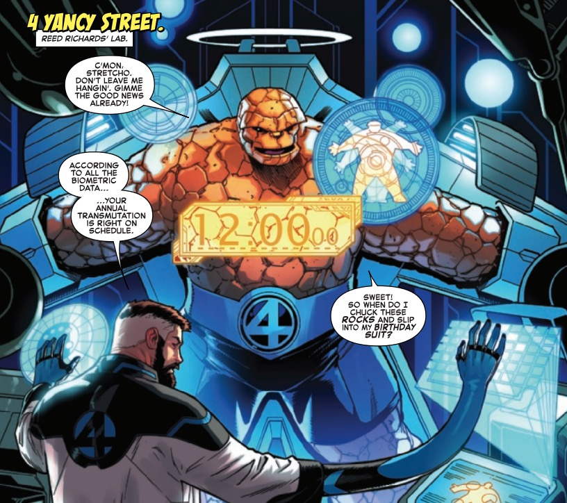 Will The Thing Finally Consummate His Marriage in Fantastic Four #12? [Preview]