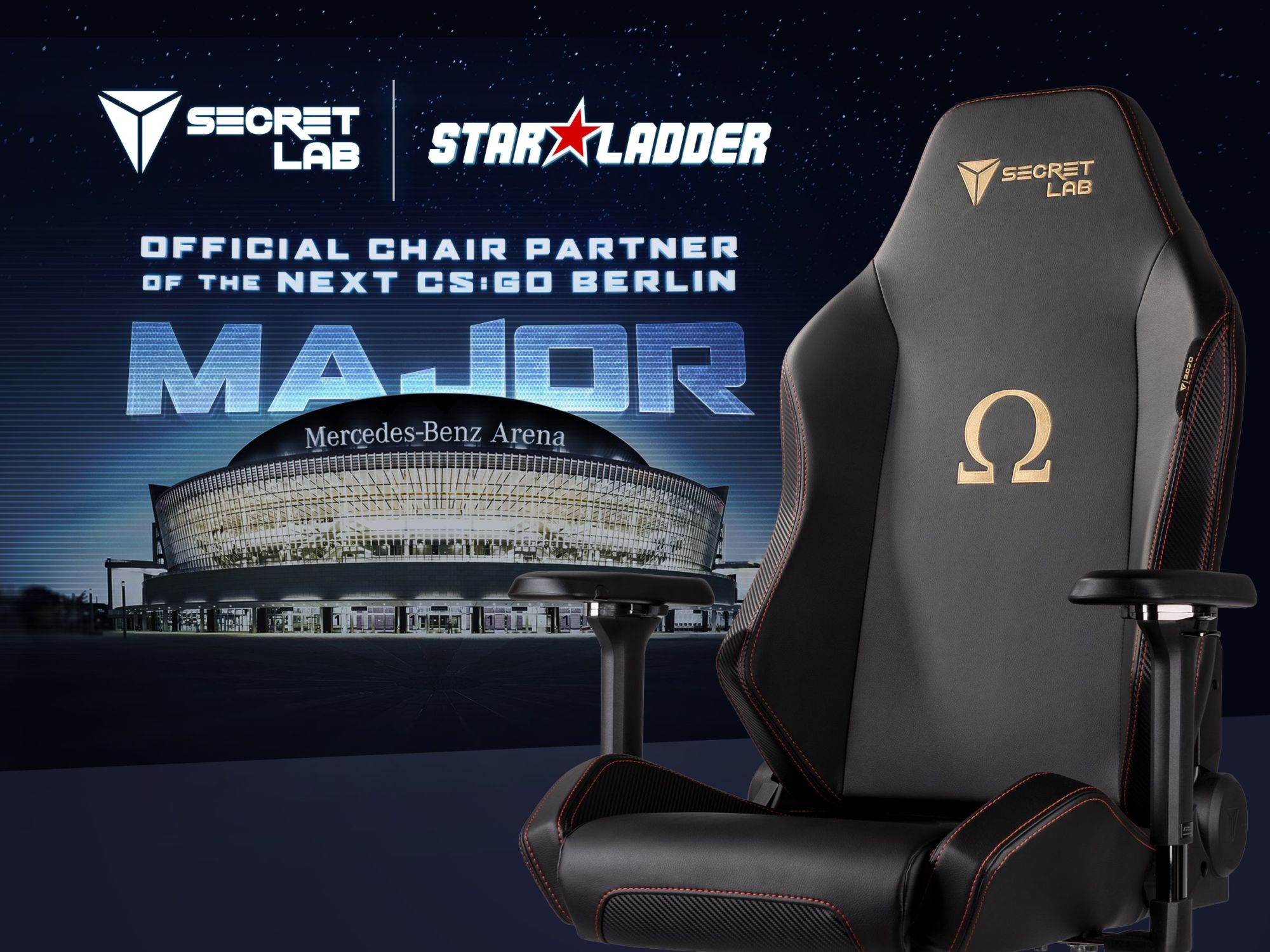 """CS:GO"" StarLadder Major Berlin 2019 Partners With Secretlab"