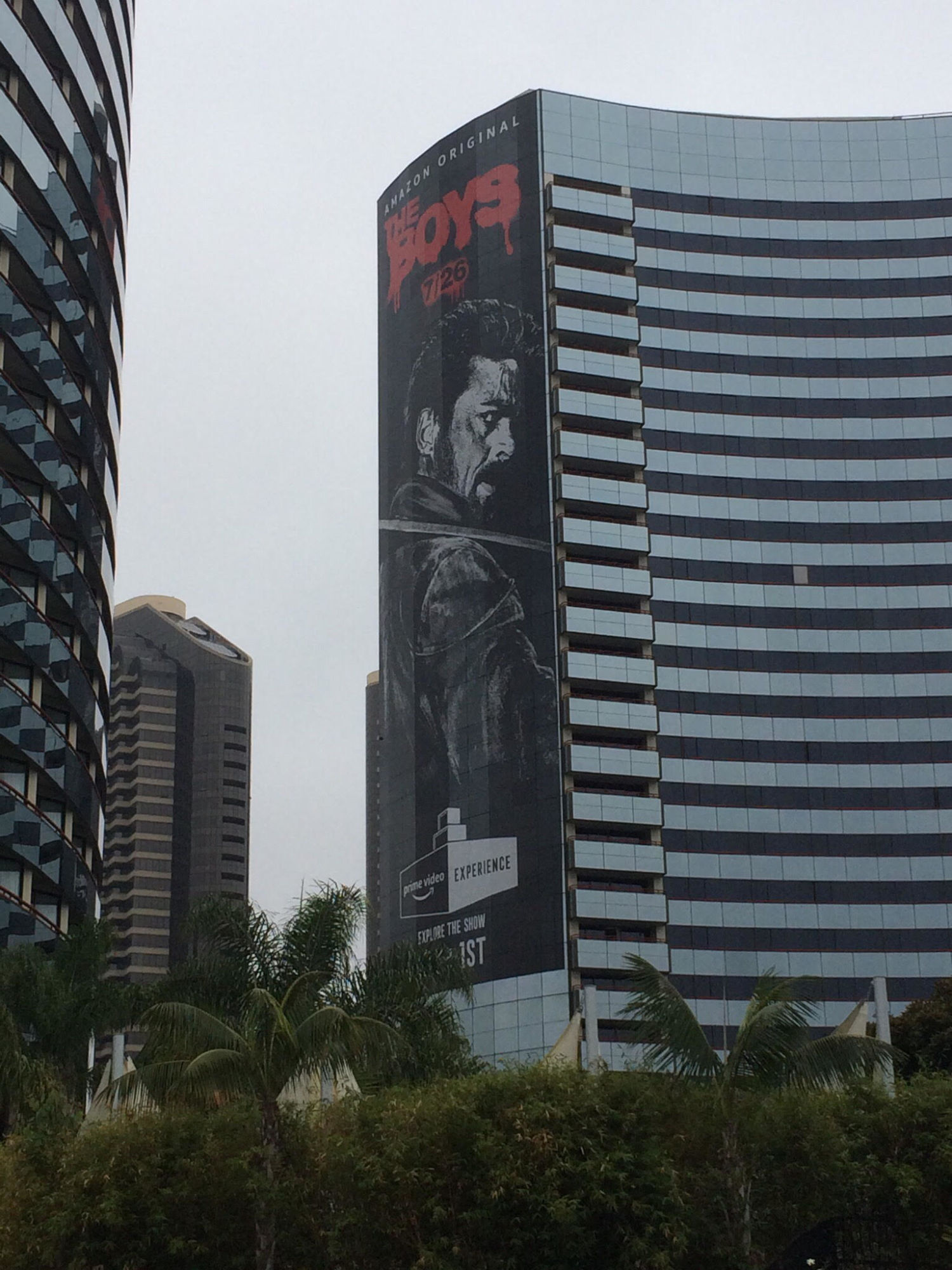 From The Boys to Avengers Tower to Rick & Morty Pods - The Look Of San Diego Comic Con 2019 - From The Outside