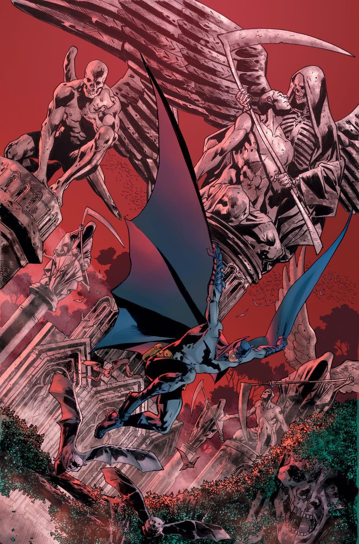 Warren Ellis Has Written Four Issues Of The Batman's Grave, Bryan Hitch Has Drawn Three...