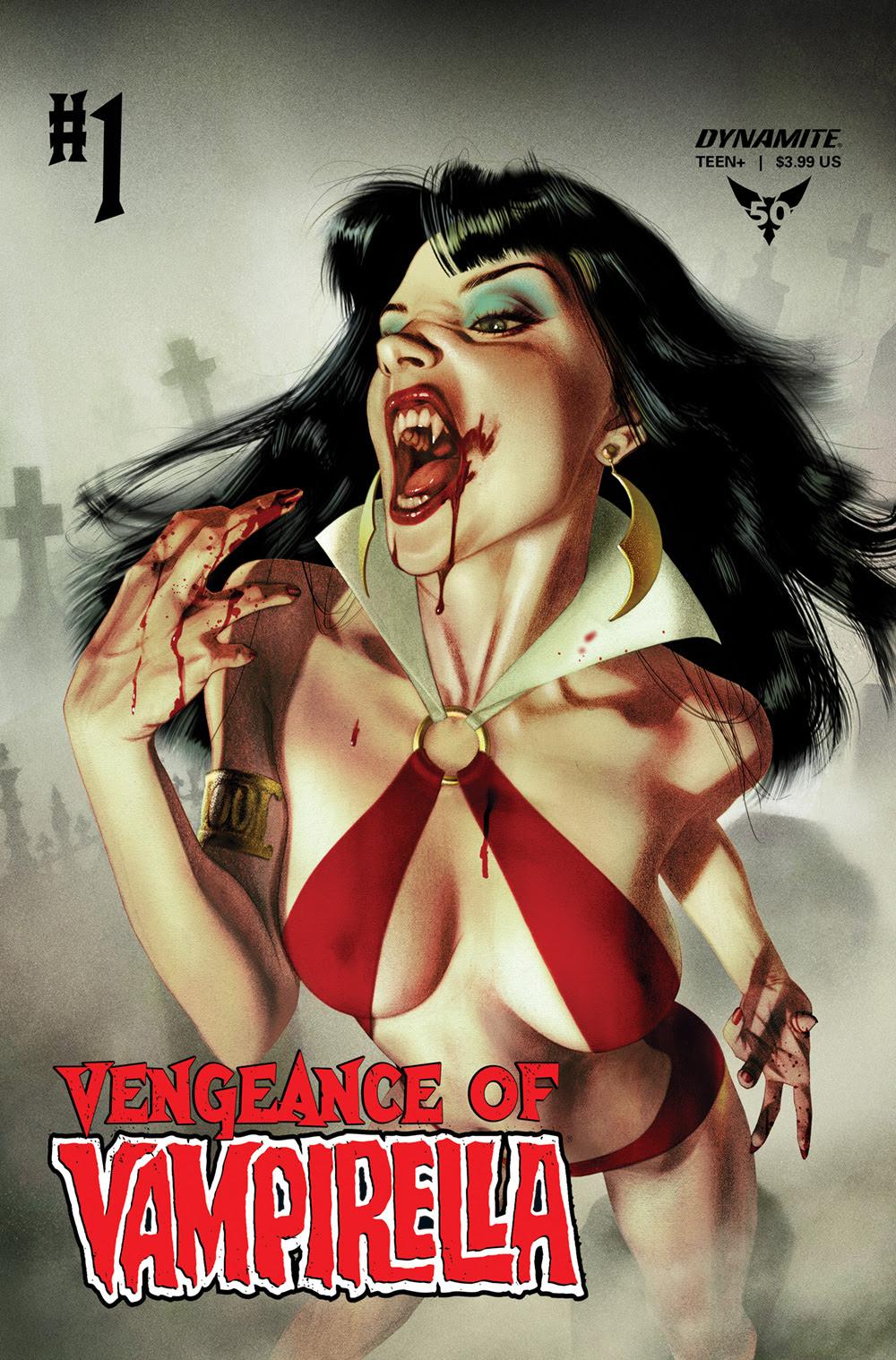 Tom Sniegoski Revives Vengeance of Vampirella at Dynamite For More Nineties Nostalgia