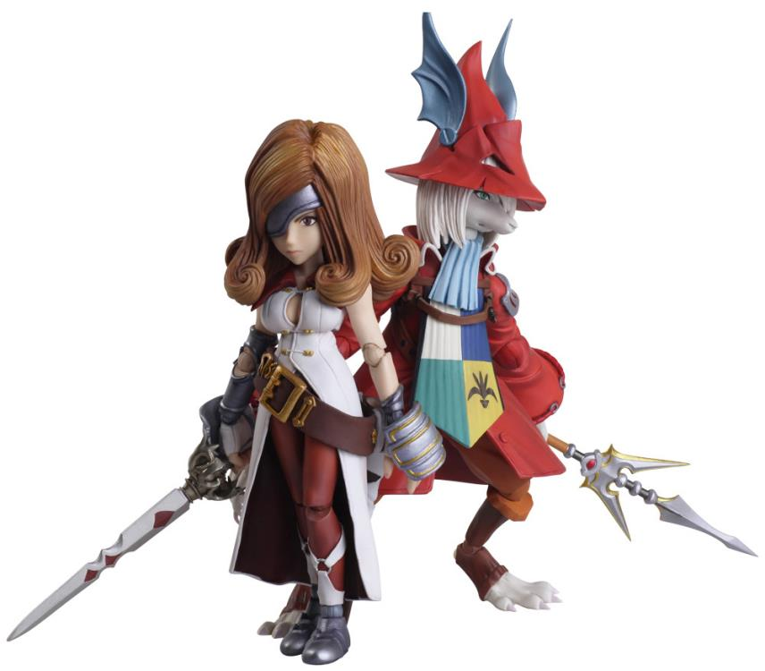 """""""Final Fantasy IX's"""" Freya and Beatrix Join Figure Line by Square Enix"""