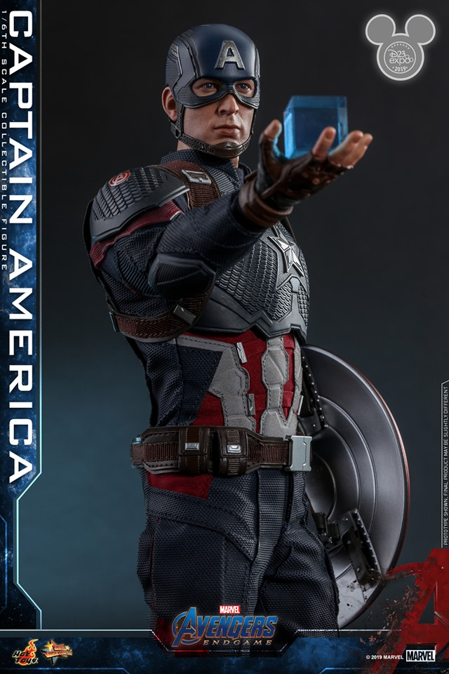 Captain America is Worthy with New Hot Toys Figure at D23