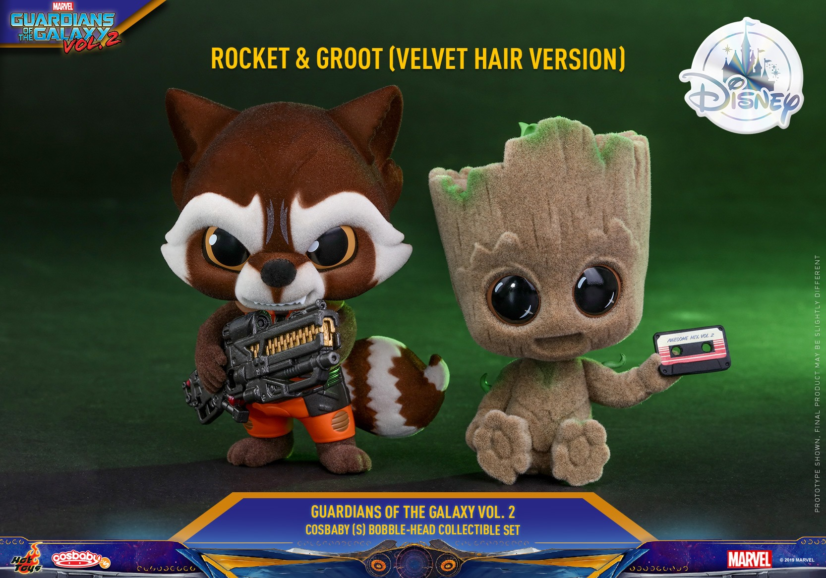 D23 Gets Two New Adorable Hot Toys Marvel Cosbaby's