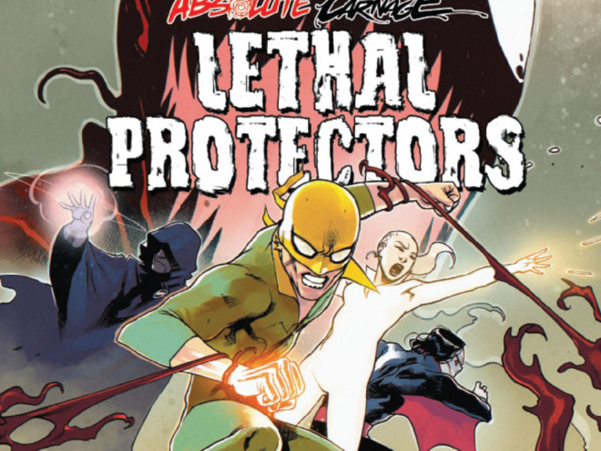 Absolute Carnage Lethal Protectors #1 Variant Cover STOCK PHOTO Marvel 2019