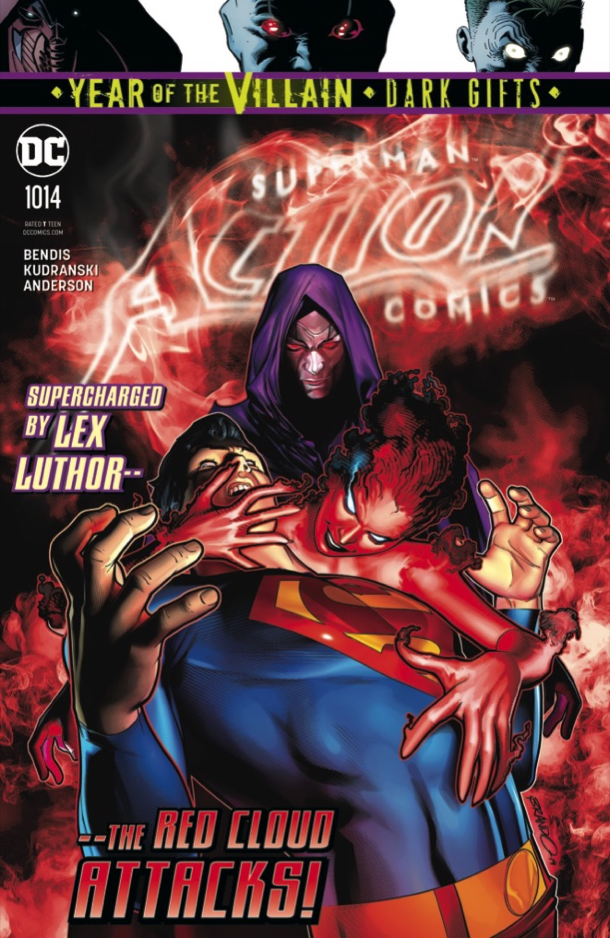 What's Trending Besides Leviathan in This EXCLUSIVE Action Comics #1014 Preview