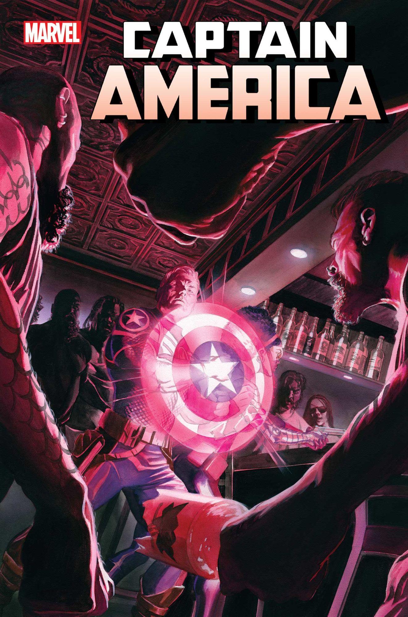 A Cop Killing Rocks New York City in Captain America #16