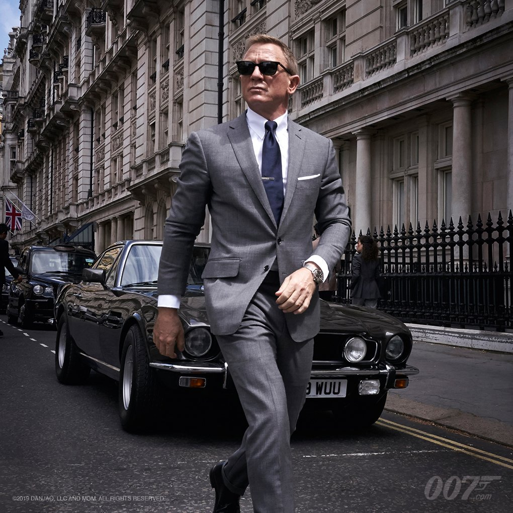 "MGM Officially Announces the Title for ""Bond 25"""
