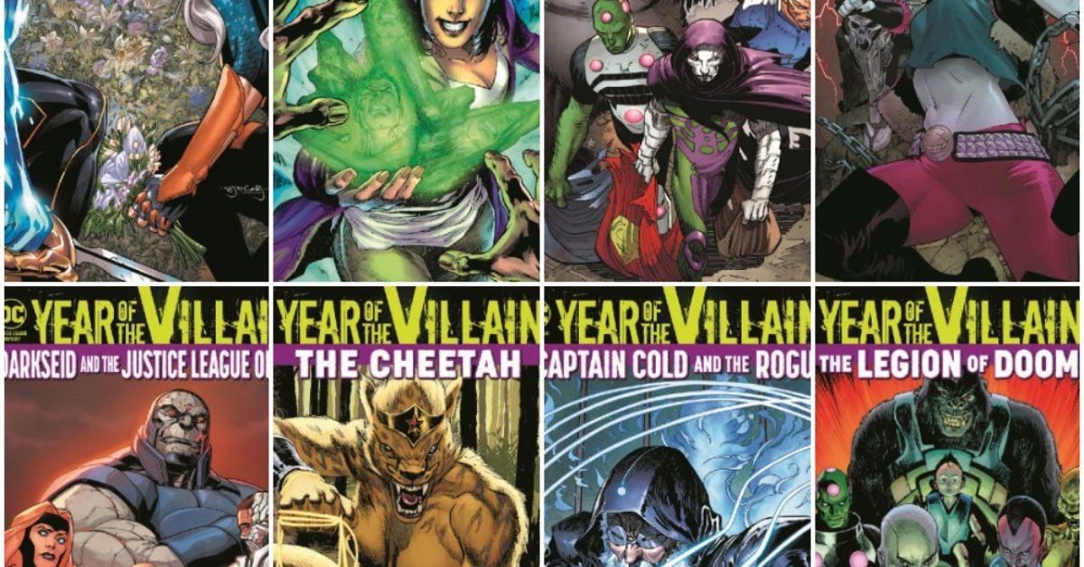 DC Comics November 2019 Solicitations, 29 Titles Frankensteined