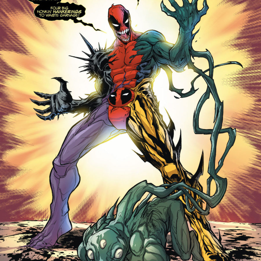 Agony, Lasher, Phage a Deadpool!