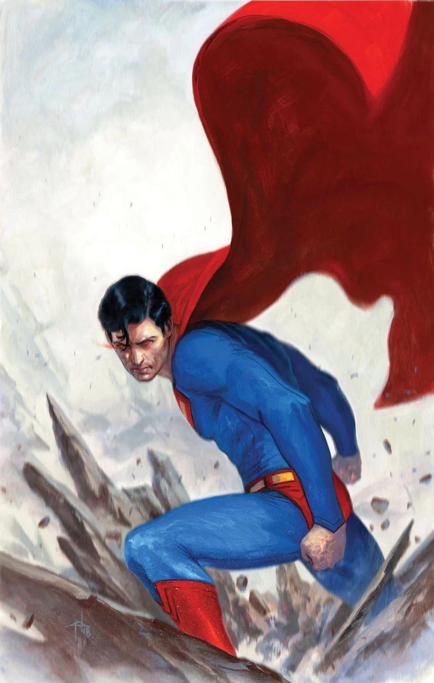 DC Switches Out Gabriele Del'Otto Superman Cover to Lucio Parrillo's Naomi