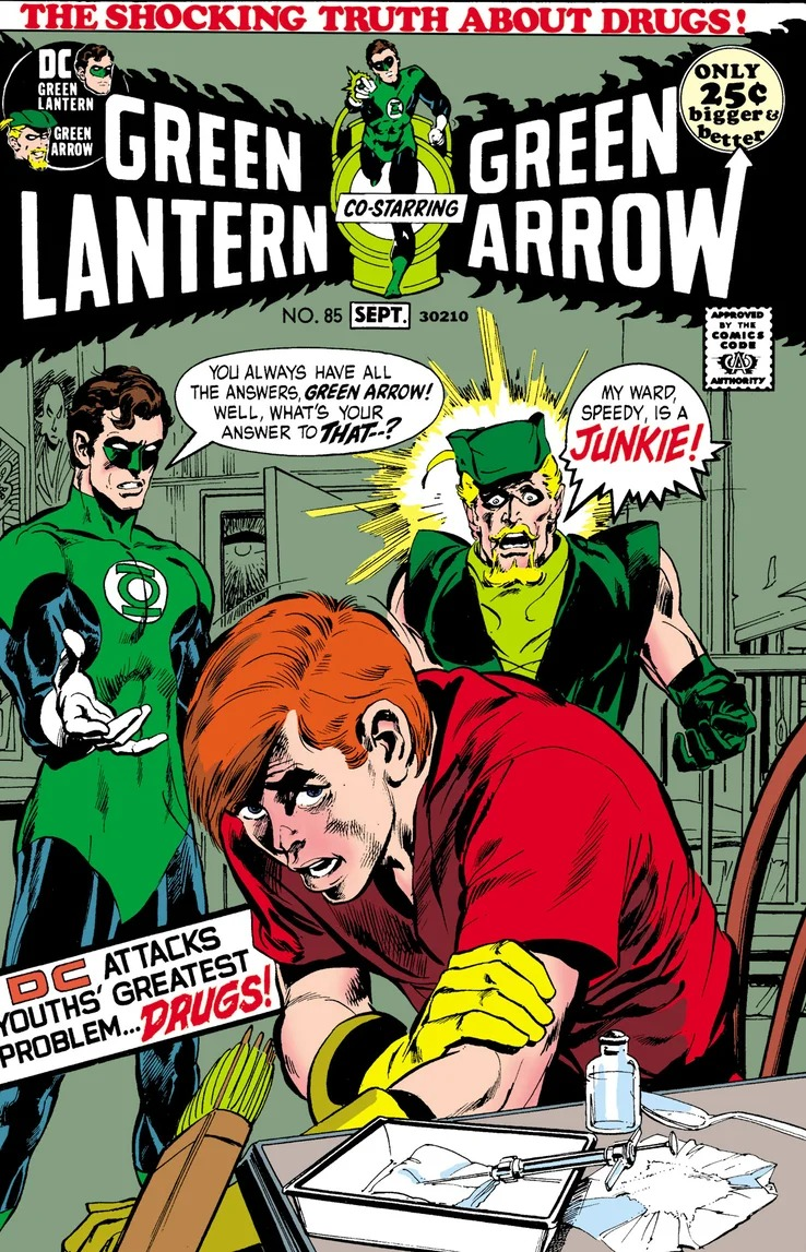 Opioid Crisis: Relive Roy Harper's Smack Addiction in Green Lantern #85 Facsimile Edition