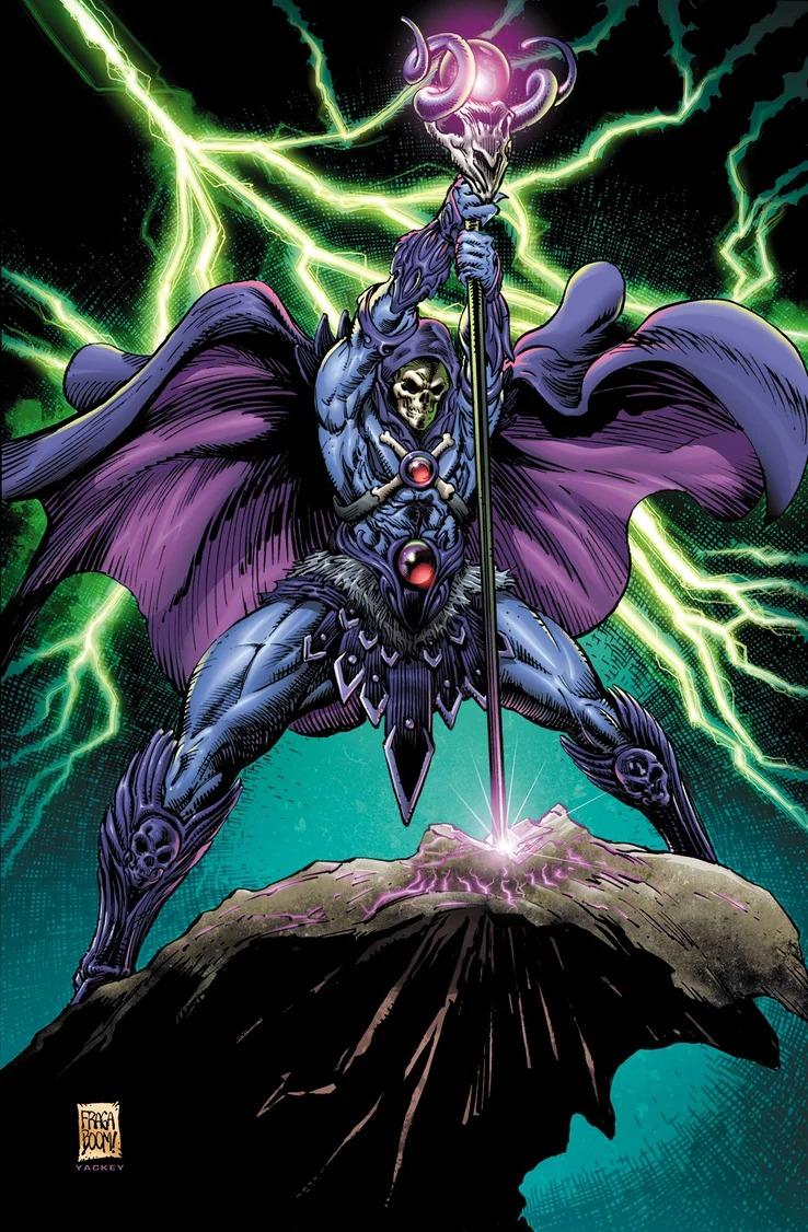 各種世界版本的太空超人將聯手合作對抗一股可怕的大威脅!而骷髏王將會是救世主?