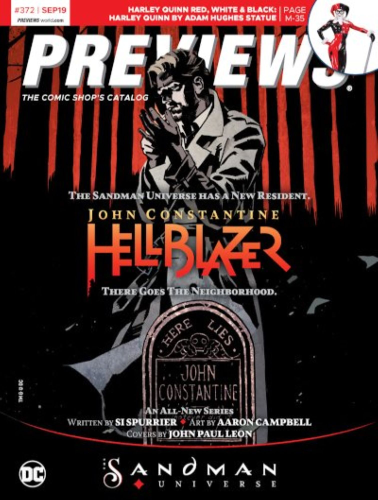 John Constantine and Undiscovered Country On Covers Of Next Week's Previews