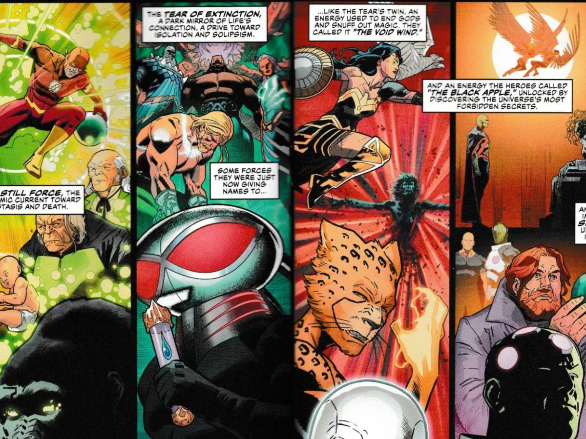 DC COMICS WONDER WOMAN #76 VARIANT EDITION YOTV DARK GIFTS