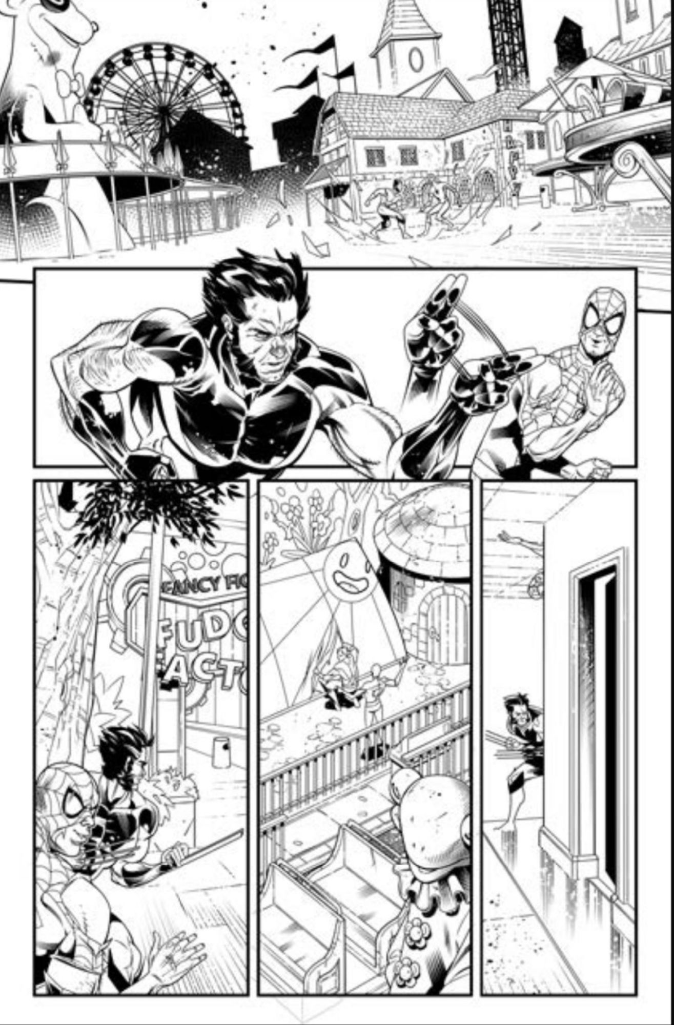 8 Pages From Amazing Spider-Man: Full Circle #1 – With the Biggest