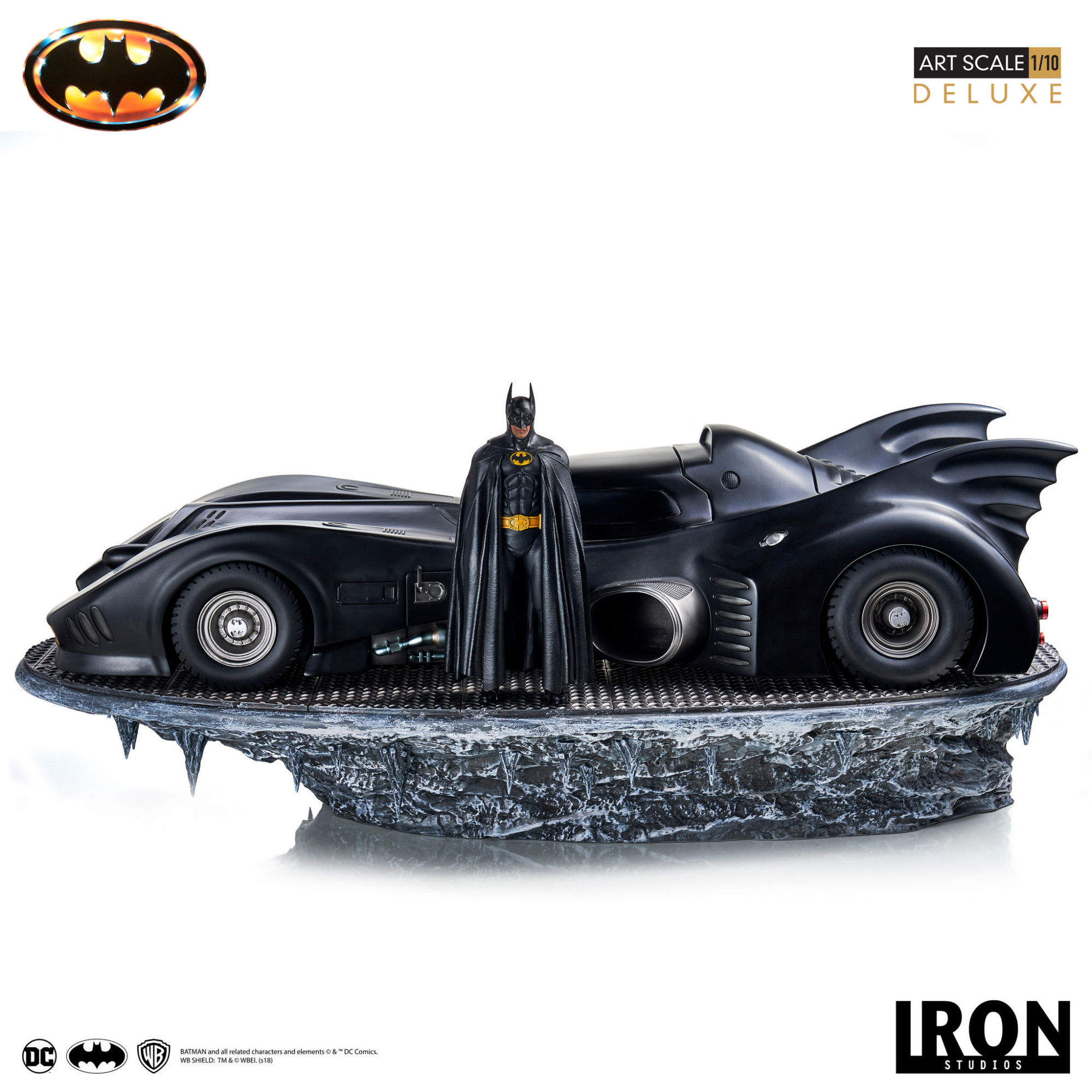 """""""Batmobile 89"""" Hits the Streets Again With New Iron Studios Art Scale"""