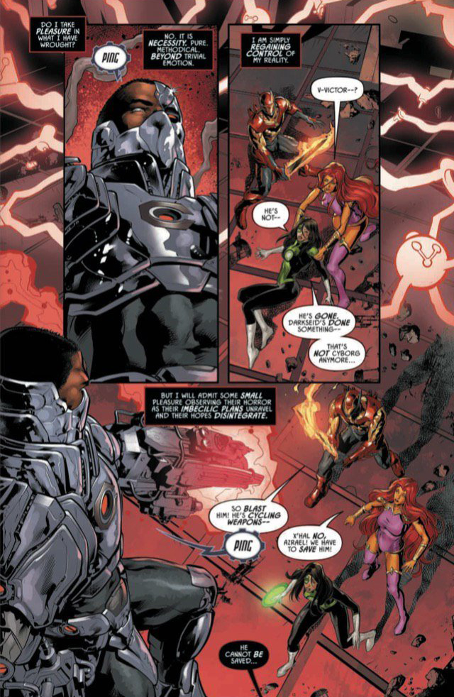 Reverse Snyder Cutting in 3 Pages from Justice League Odyssey #12 [Preview]