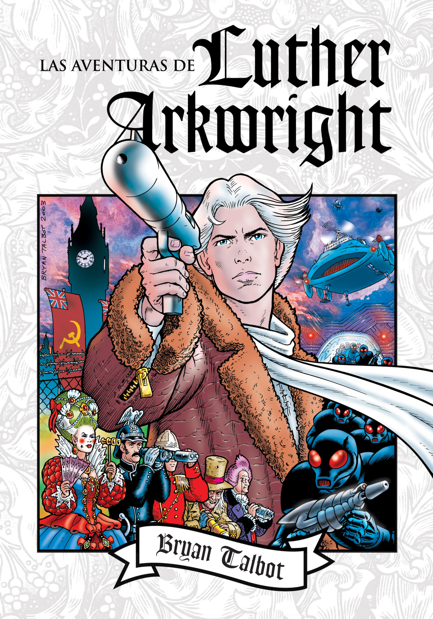 """After Twenty Years, Bryan Talbot Returns With """"The Legend of Luther Arkwright"""""""