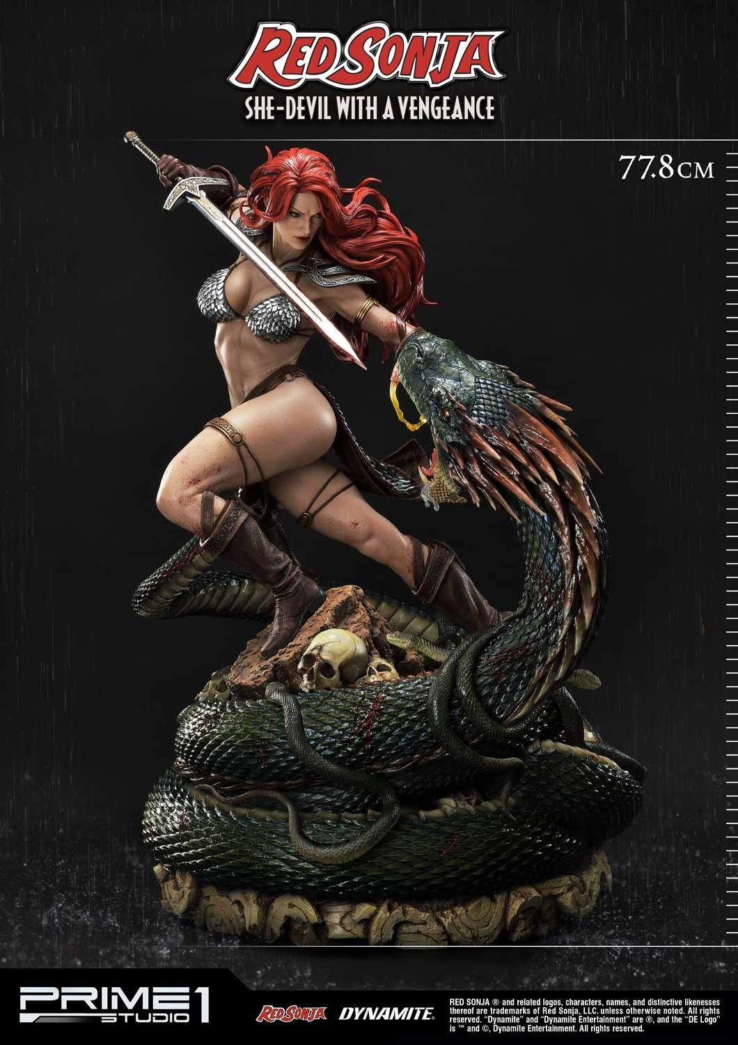 Red Sonja Wants Blood in Upcoming Prime 1 Studios Statue