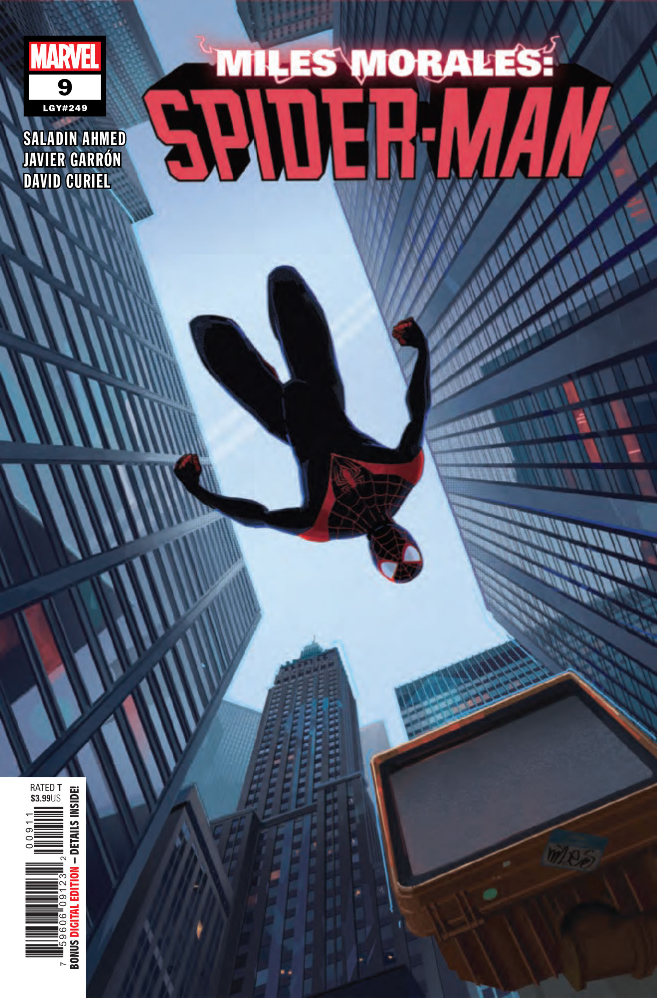 Family to the Rescue in Miles Morales: Spider-Man #9 [Preview]