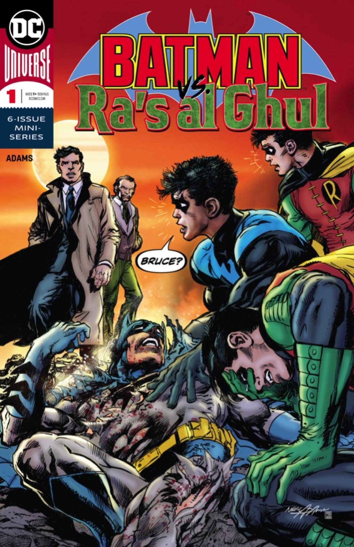 Batman vs. Animal Cruelty in this EXCLUSIVE Batman Vs. Ra's Al Ghul #1 Preview