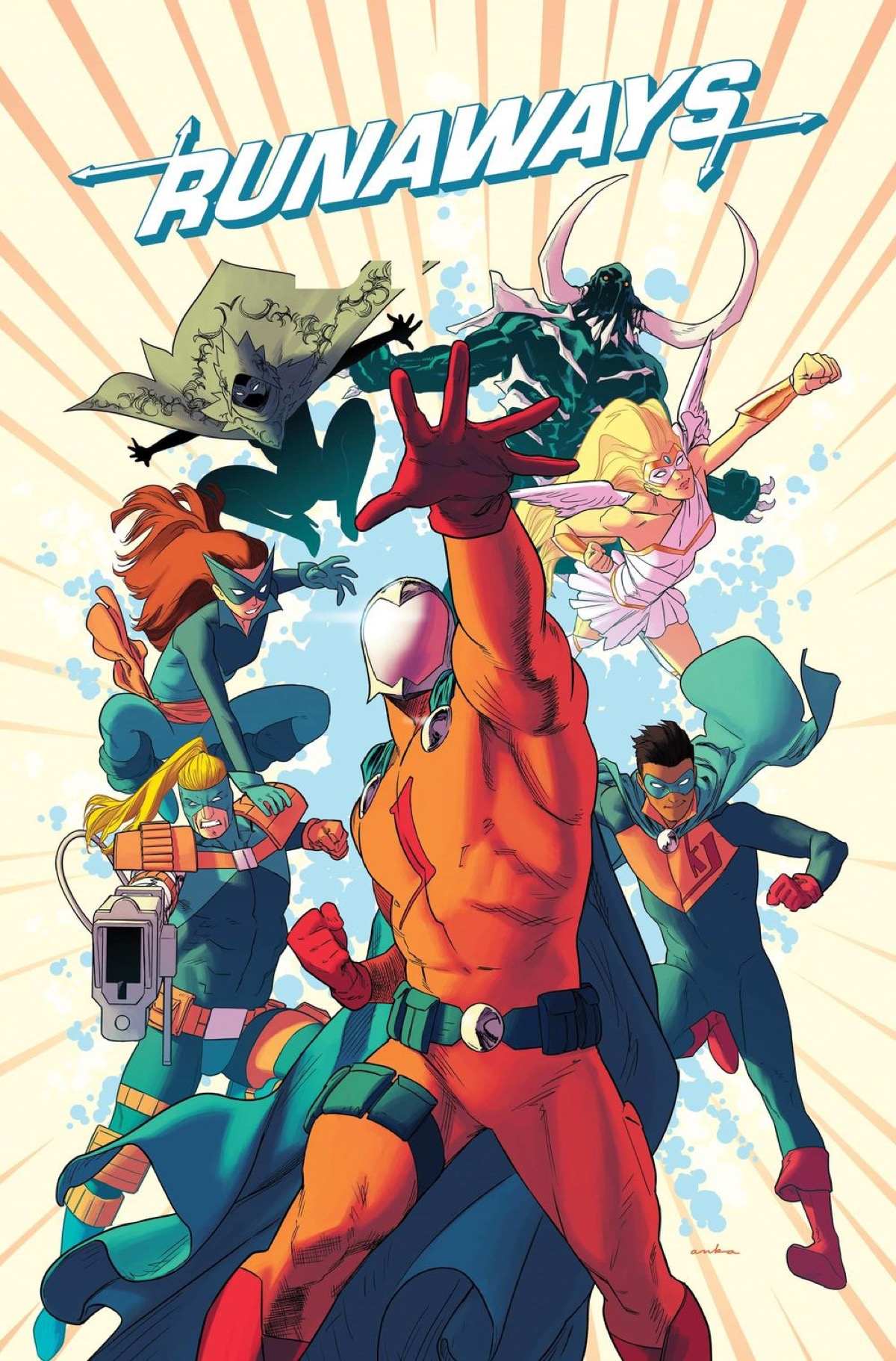 Marvel's Runaways Become Doc Justice and the J-Team in November