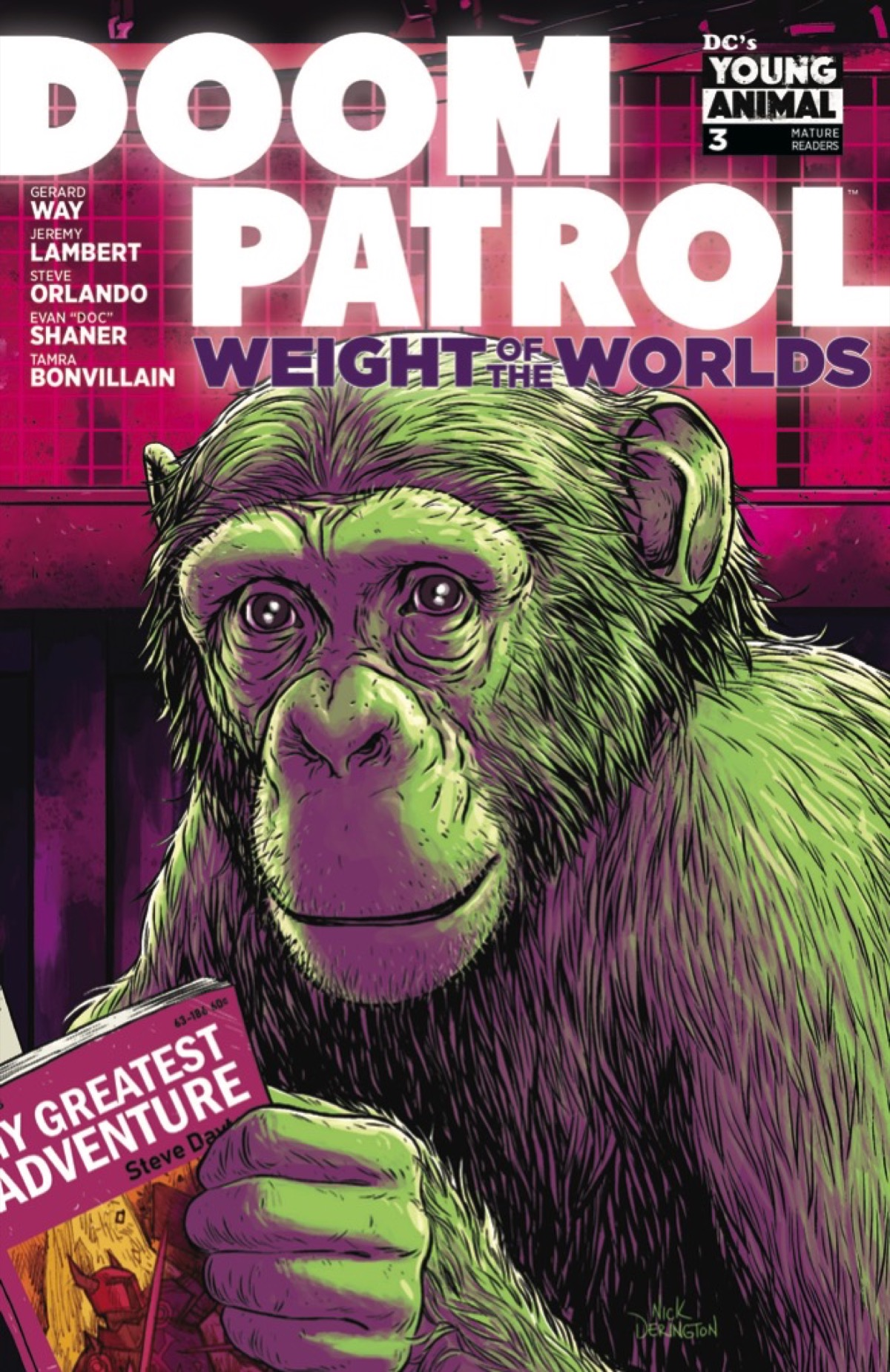 A 2031 Facsimile Edition in This EXCLUSIVE Doom Patrol: Weight of the Worlds #3 Preview