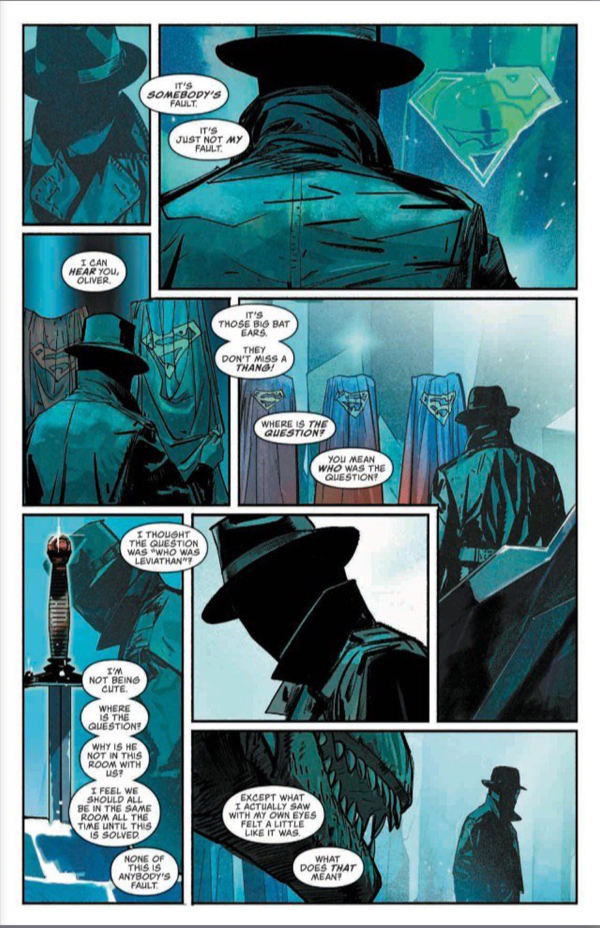 3 Pages From the Fortress of Solitude in Event Leviathan #3 [Preview]