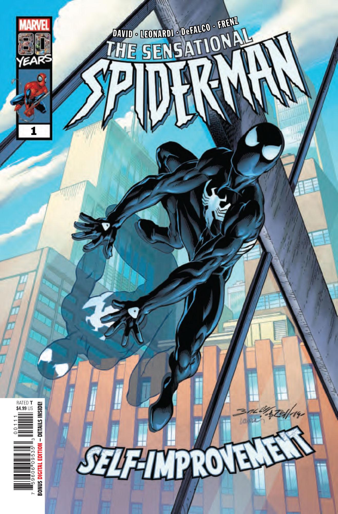 The Original Origin of Spidey's Black Costume in Sensational Spider-Man Self-Improvement [Preview]