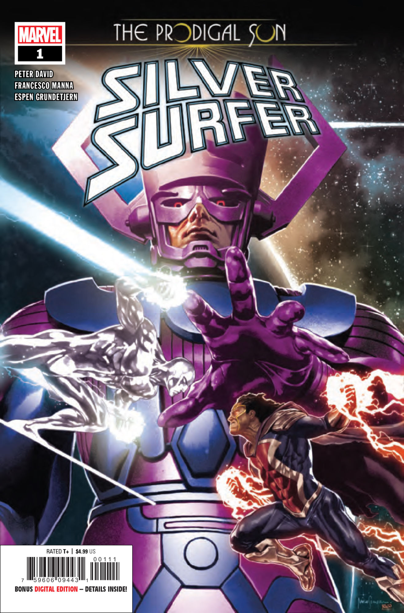 Feeding Time for Galactus in Silver Surfer: Prodigal Sun #1 [Preview]