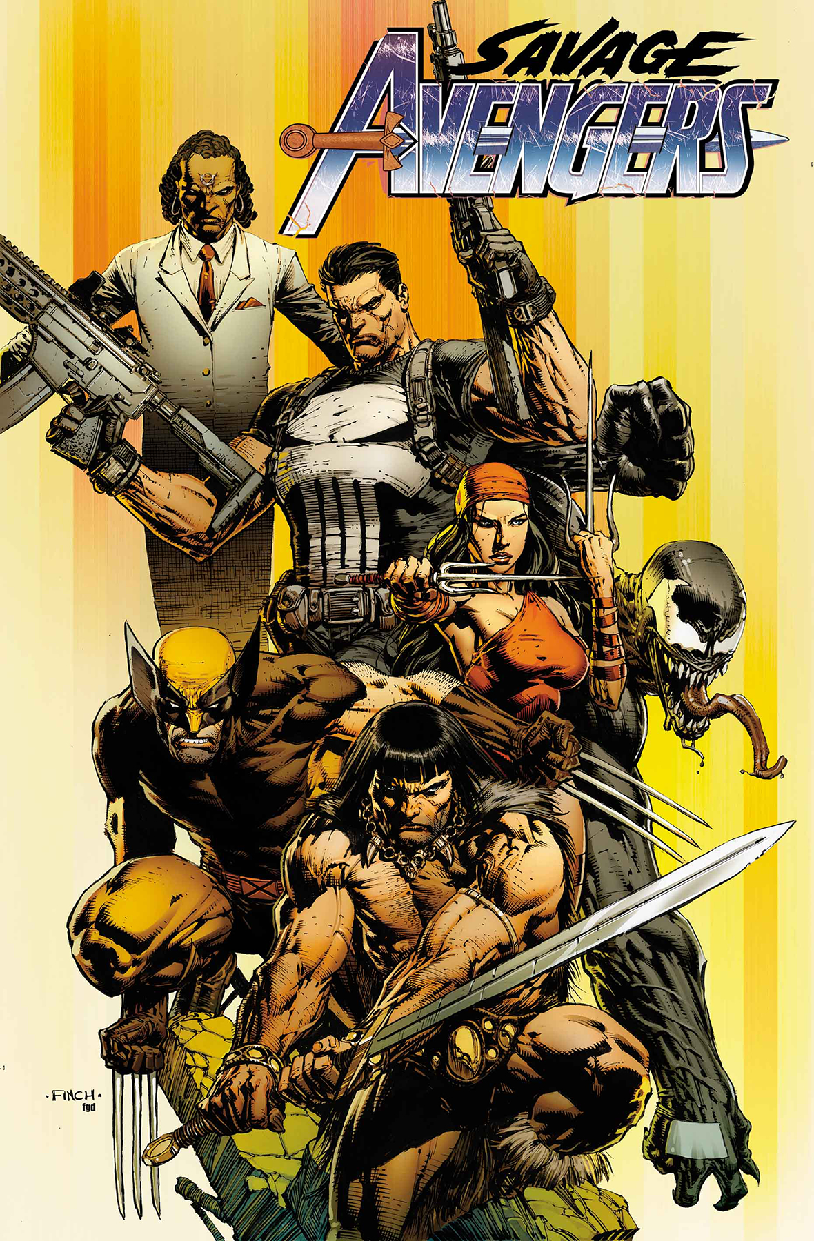 Kim Jacinto Replaces Mike Deodato on Savage Avengers, Then Patch Zircher Comes On Board
