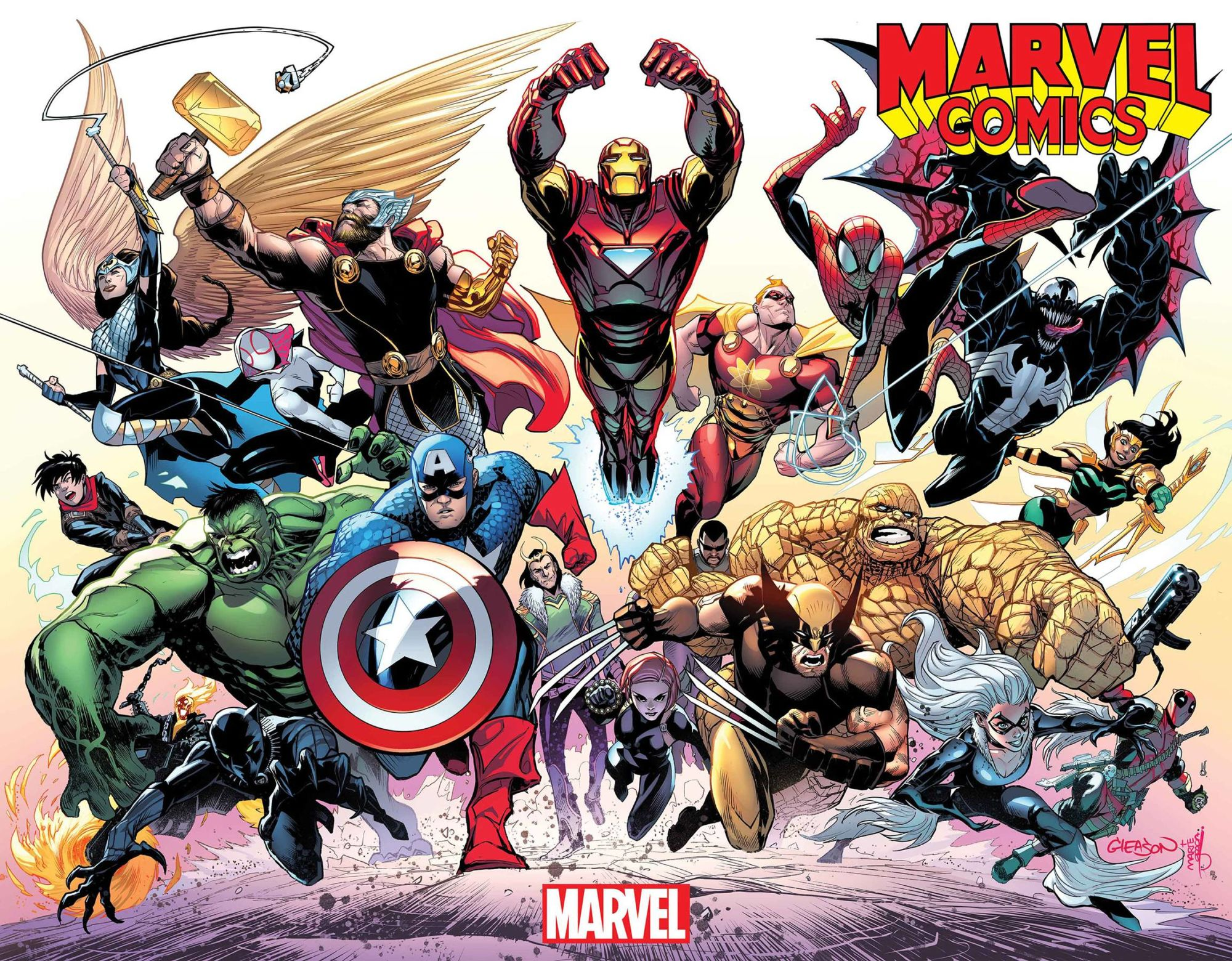 A Bigger Creator List for Marvel Comics #1001